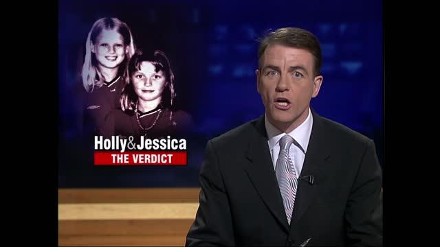 stockvideo's en b-roll-footage met verdict: itv late news pab; england: london: gir: int bill neely i/c - itv late news