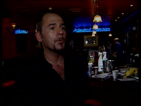 Pub reopens ITN INT Bar staff polishing and preparing for reopening of pub PULL Mark Taylor interview SOT Can't wait to get back behind the bar...