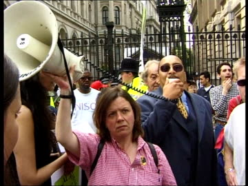 soho nail bomb; westminster bridge: vox pop gay mansot -don't know why fascist sympathisers are targeting blacks & gays now downing street: cms black... - 1990 1999 stock videos & royalty-free footage