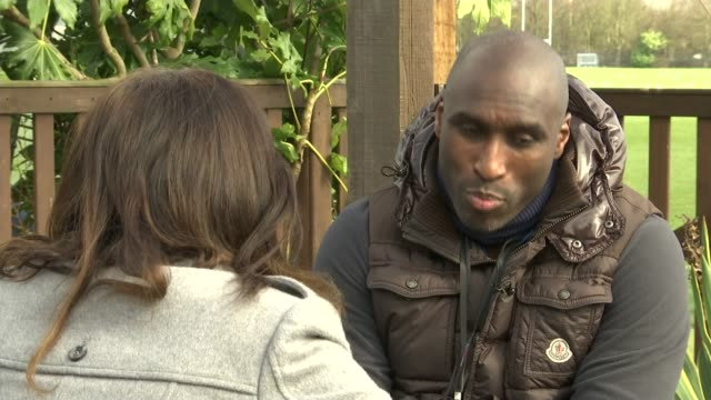 Sol Campbell speaks about racism in football EXT Sol Campbell interview SOT On his attempt to become Conservative candidate for London Mayor Campbell...