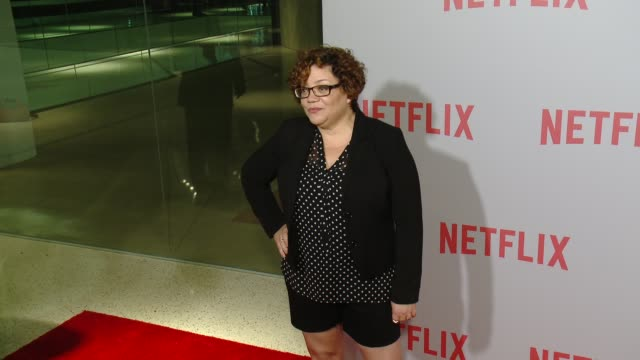 sol miranda at netflix's series unbreakable kimmy schmidt qa screening event at pacific design center on june 07 2015 in west hollywood california - pacific design center stock videos and b-roll footage