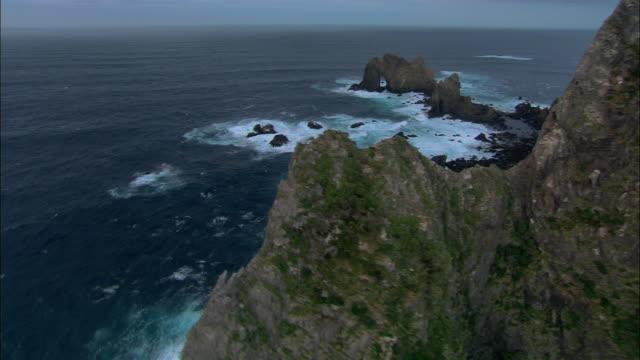 LOW AERIAL, Solander islands, New Zealand