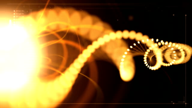 solar dna activation - helix model stock videos & royalty-free footage