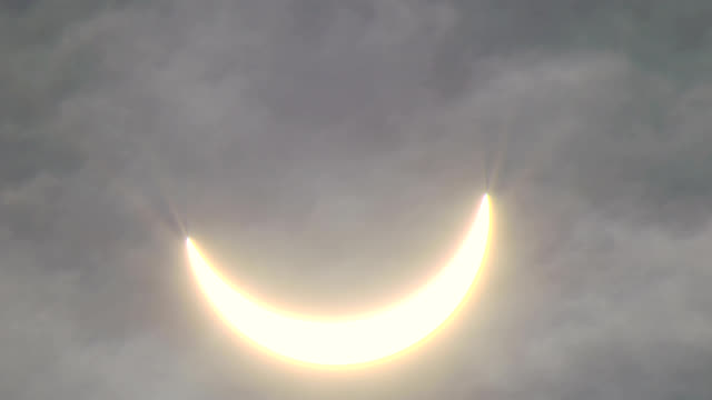 """solar eclipse, uk, 20th march 2015"" - part of stock videos & royalty-free footage"