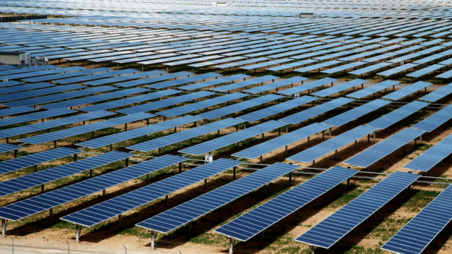 Solar Farm Time Lapse