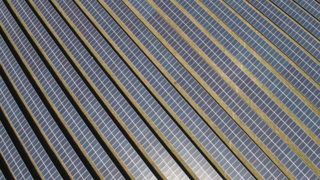 solar farm - solar panel stock videos & royalty-free footage