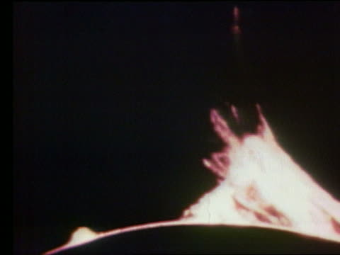 solar flares / apollo 17 - solar flare stock videos & royalty-free footage