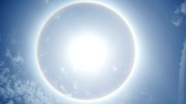 solar halo - halo stock videos and b-roll footage