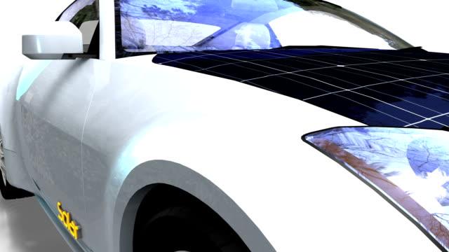 solar panel electric car - motorsport stock videos & royalty-free footage