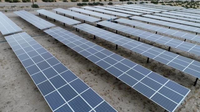 Solar panel field near Palm Springs
