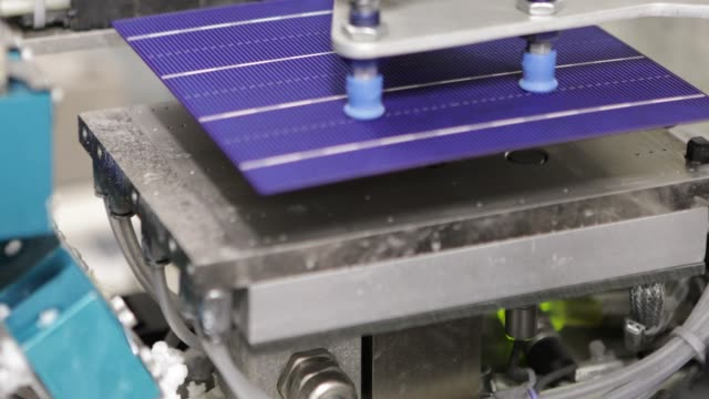 solar panel production line - production line stock videos & royalty-free footage