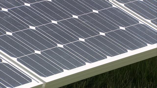 ms tu solar panels / howbery, oxfordshire, united kingdom - solar panel stock videos & royalty-free footage