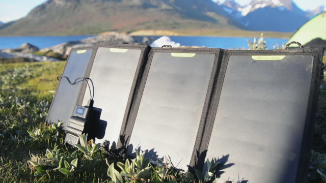 solar panels - self sufficiency stock videos and b-roll footage