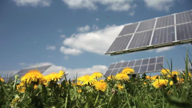 Solar Park in Spring