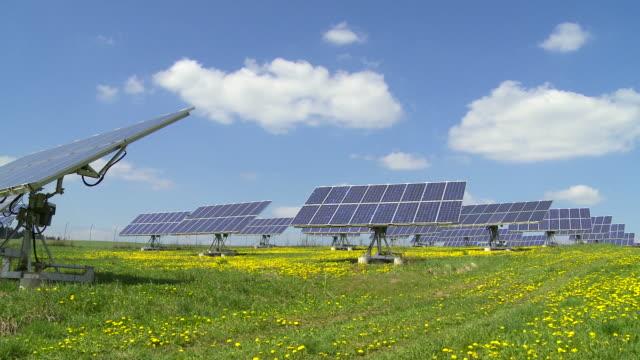 PAN Solar Park In Spring