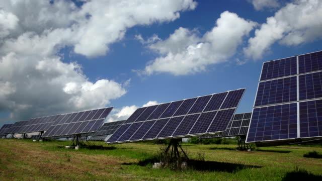 Solar Power Plant mit Flexible Einsätze TL Kamerafahrt