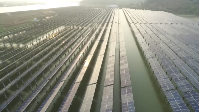 solar power - solar power station stock videos and b-roll footage