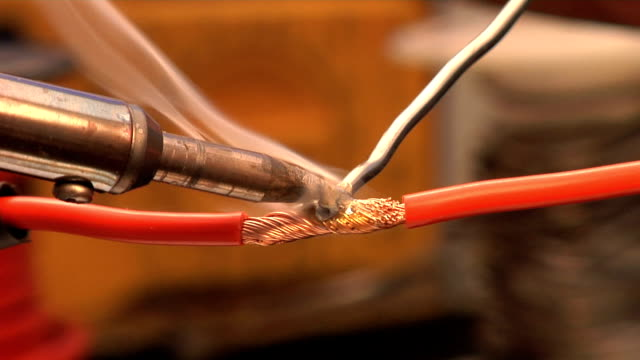 Soldering Iron Videos and B-Roll Footage | Getty Images