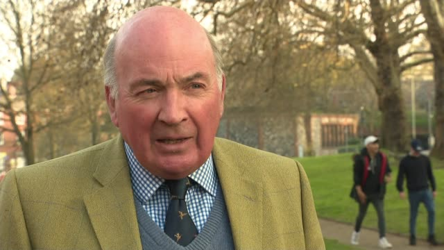 'soldier' b faces murder charges over 1972 death of teenage boy in northern ireland; location unknown: ext lord dannatt interview sot - b rolle stock-videos und b-roll-filmmaterial