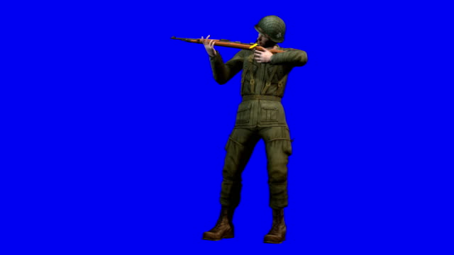 Soldier Shooting (Loopable)