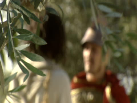 a soldier speaks with jesus christ. - israelite stock videos & royalty-free footage