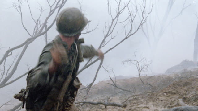 a soldier throwing a grenade. - hand grenade stock videos & royalty-free footage