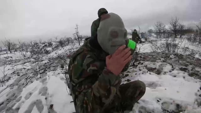 us soldiers from company b 1st battalion 18th infantry regiment work with the bulgarian 42nd mechanized infantry battalion yambol bulgaria while... - regiment stock videos and b-roll footage