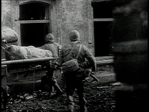 soldiers in combat in europe and pacific / - fighting stock videos & royalty-free footage