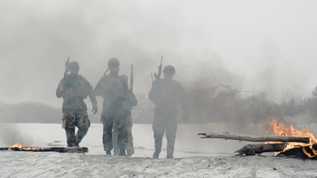 Soldiers in Free-Fire Zone