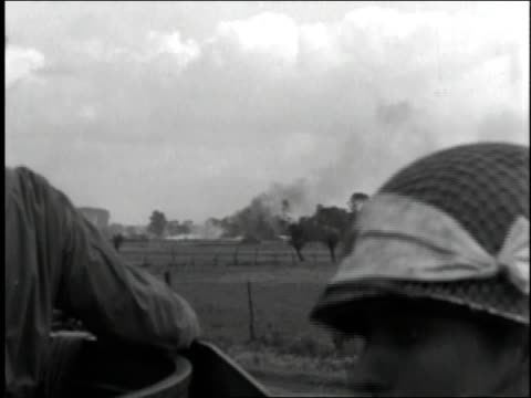 wwii soldiers lay down in a ditch with guns prepped for combat - 1944 stock videos and b-roll footage