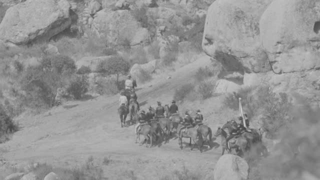 WS PAN Soldiers riding at mountain