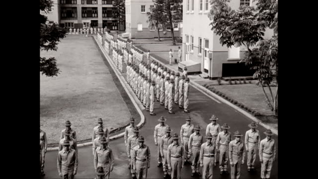 WS PAN Soldiers standing at attention / United States