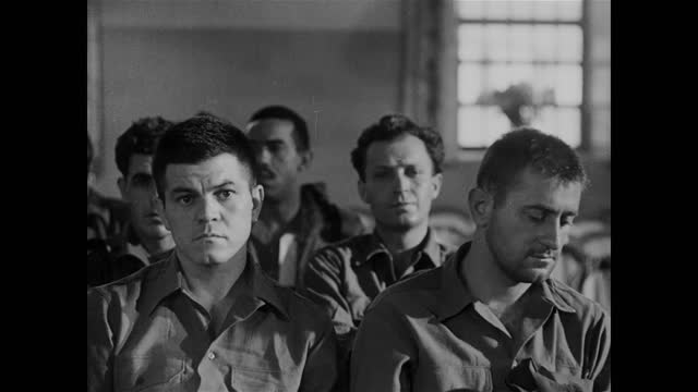 soldiers who got psychological traumas at ww2, in a hospital - shock stock videos & royalty-free footage