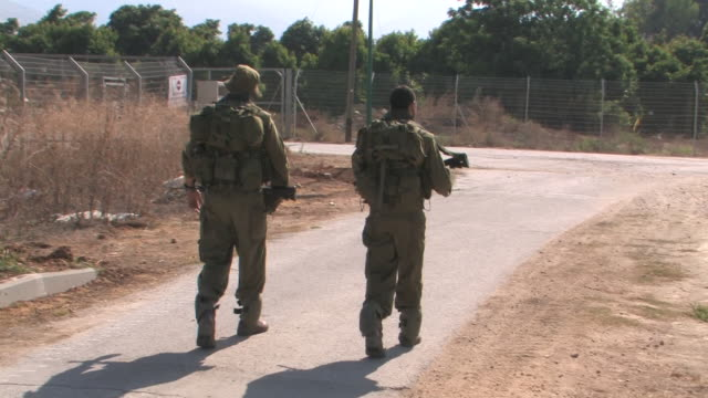 Soldiers,Kiryat Shmona city, Israel Lebanon war, July 30 2006