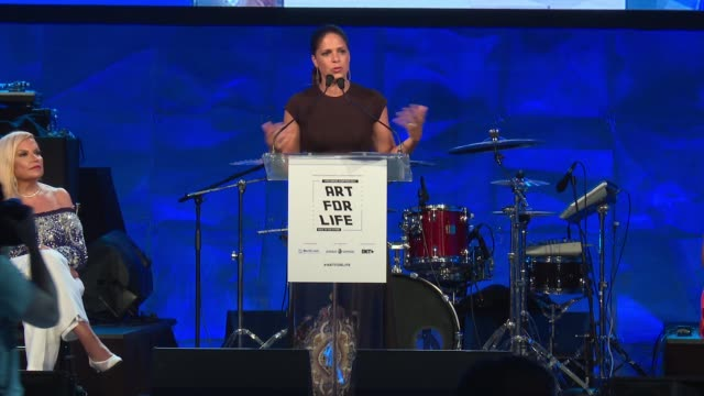 interview soledad o'brien says we need to encourage people to find their voice and tell their story she thinks arts education helps that in the... - bridgehampton stock videos & royalty-free footage