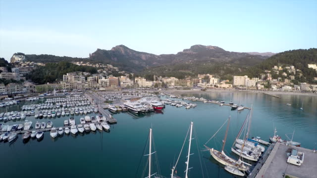 soller port - majorca stock videos & royalty-free footage
