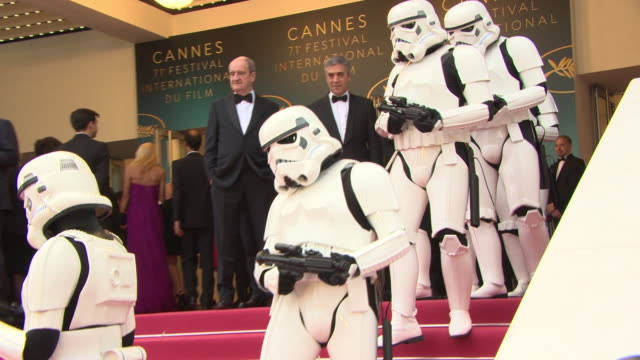 star wars story' red carpet arrivals - the 71st annual cannes film festival on may 15, 2018 in cannes, france. - star wars stock videos & royalty-free footage