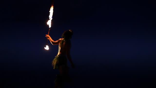 Solo Fire Dancer