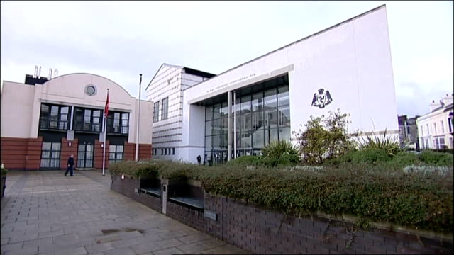 inquest accidental death verdict isle of man building where inquest held - solway harvester stock videos and b-roll footage