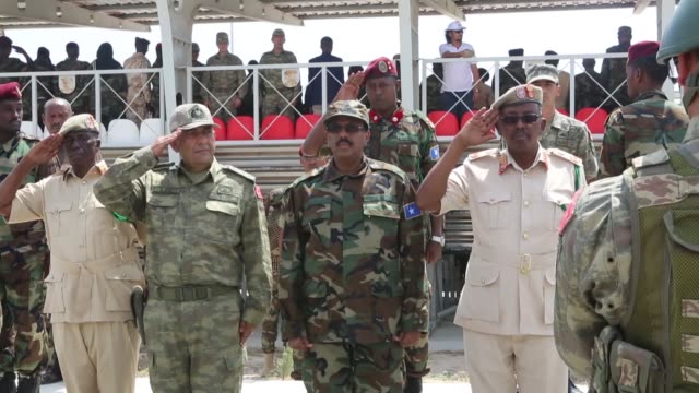Somali President HE Mohamed Abdullahi Farmajo Friday attended the passing out ceremony of the first batch of national army troops who received...