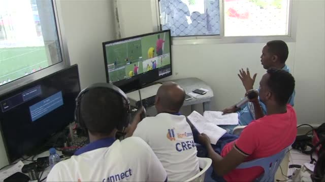 somalia on thursday screened its first ever live football match as the horn of africa nation slowly recovers from decades of war - horn of africa stock videos and b-roll footage
