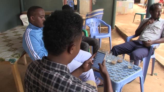 somalia rejoined the world wide web on monday more than three weeks after internet access was cut when a container ship damaged an undersea cable... - undersea video stock e b–roll