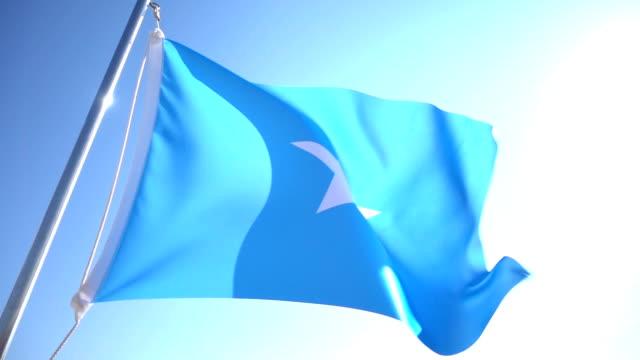 Somalischer Herkunft Flagge