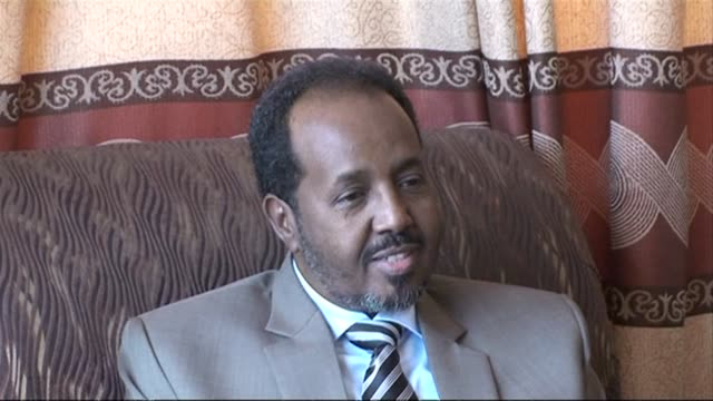 somalias president hassan sheikh mohamud says he has offered an amnesty to young pirates in a bid to end attacks off the horn of africa nations coast... - horn of africa stock videos and b-roll footage