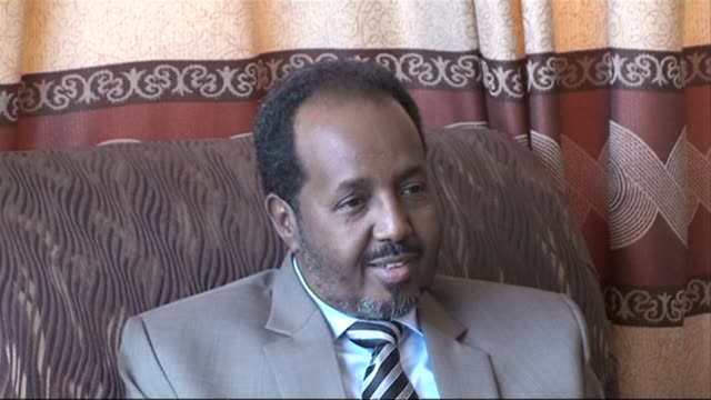 somalias president hassan sheikh mohamud says he has offered an amnesty to young pirates in a bid to end attacks off the horn of africa nations coast... - horn of africa stock videos & royalty-free footage