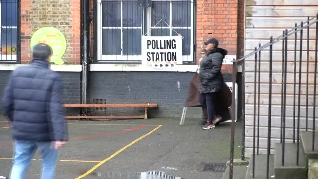 some 49 million voters are set to cast their votes on thursday in what could be described as one of the most crucial polls in a generation. the... - conservative party uk stock videos & royalty-free footage