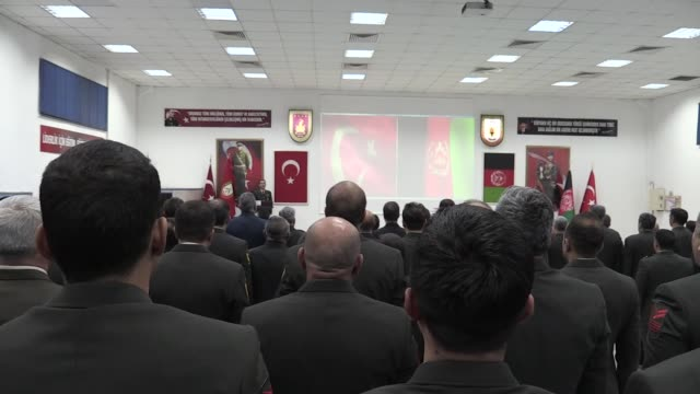 Some 75 female Afghan commissioned officers successfully completed Friday a military training program in Turkey The officers received their...