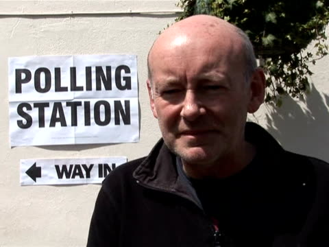 some lucky london voters combined a trip to the polls with a stop in the pub on thursday, as they cast their ballots in one of the more unusual... - greater london stock videos & royalty-free footage