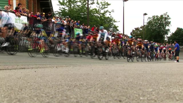 some of the biggest names in cycling are gearing up to take their place in the peloton for the tour of britain organisers hope tomorrow's event will... - tour of britain stock videos & royalty-free footage