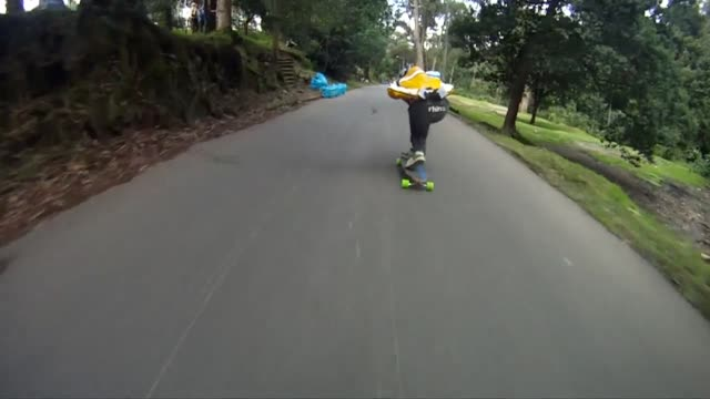 some of the world's top skateboarders have been hurtling down a 1.2-kilometre course in colombia's capital bogota at speeds of up to 70 kilometres... - kilometre stock videos & royalty-free footage